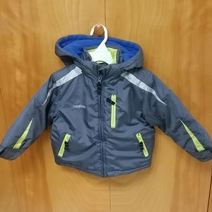 Fleece lined winter jacket 2T